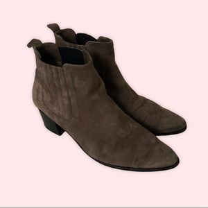 Modern Vice NYC Classic Handler Suede Ankle Boots